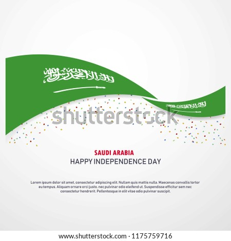 Saudi Arabia Happy independence day Background