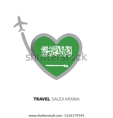 saudi arabia travel concept