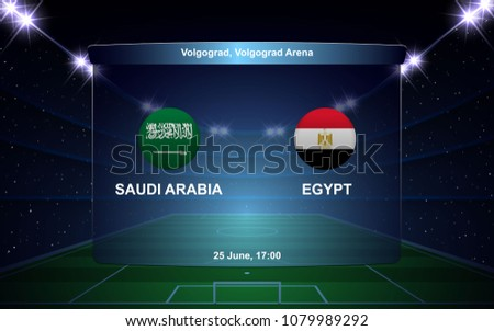 saudi arabia vs egypt football