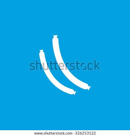 Sausage icon Stock photo ©