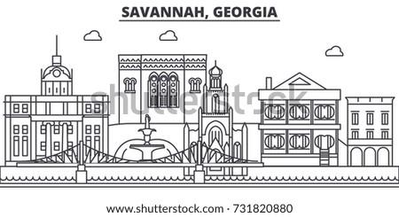 savannah  georgia architecture