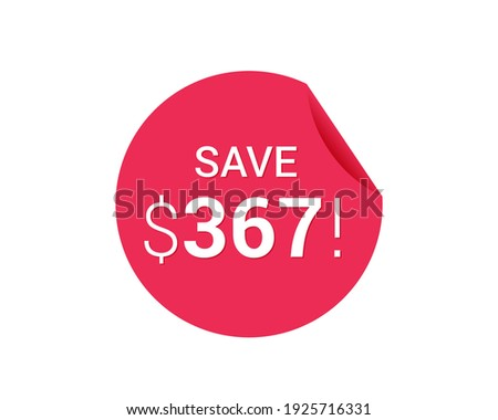 save  367 dollars   367 us
