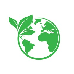 Save earth and ecology icon