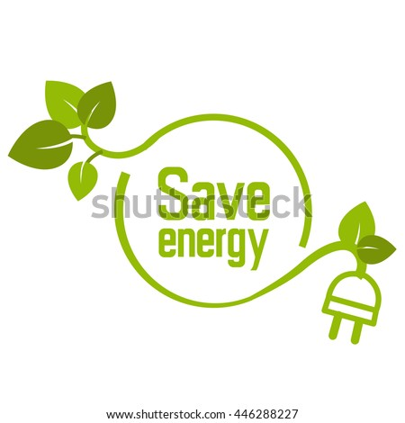 save energy icon symbol