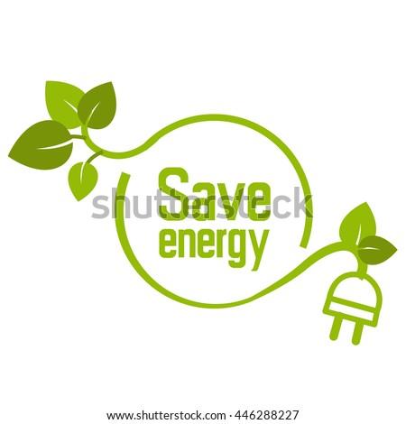save energy icon symbol