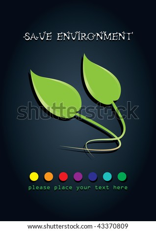 save the environment poster save the environment poster