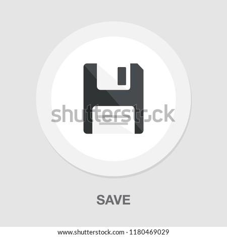 save icon - computer symbol - memory storage - information disc