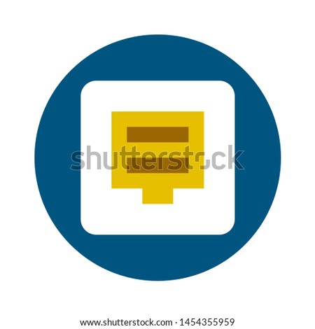 save icon. flat illustration of save. vector icon. save sign symbol