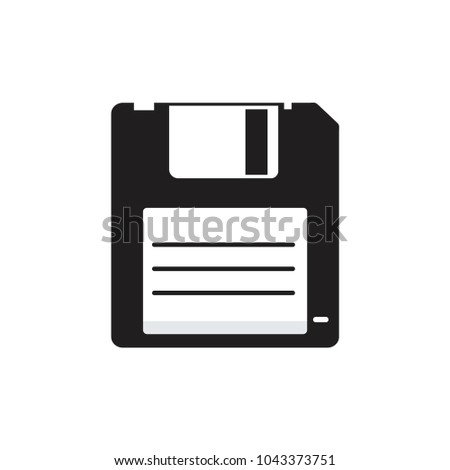 save Icon vector.floppy disk,diskette icon, simple and modern diskette vector