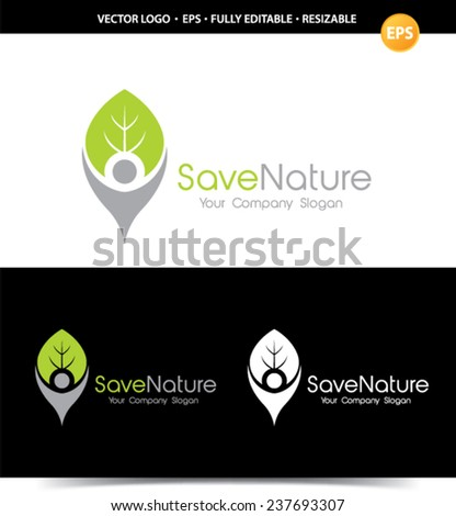 Save Nature logo.
