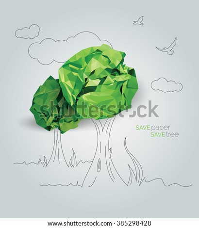 save paper save tree   save