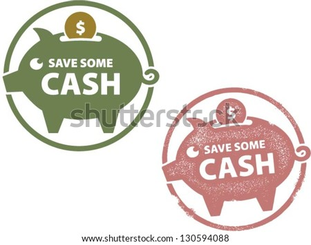 Save Some Cash Piggy Savings Bank