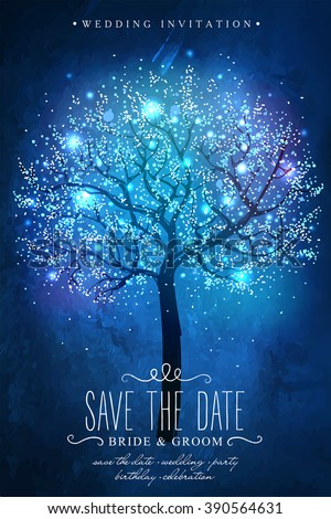 save the date beautiful magic