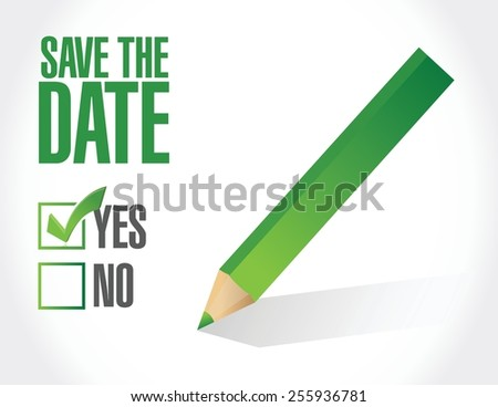 save the date check mark
