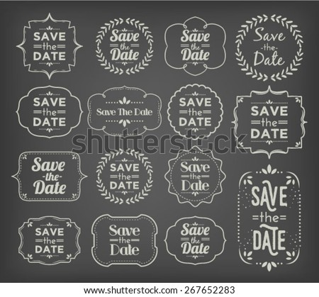 save the date   collection of