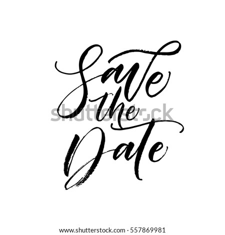 save the date postcard wedding