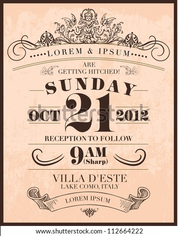 260+ Wedding Invitation Templates Vectors | Download Free Vector
