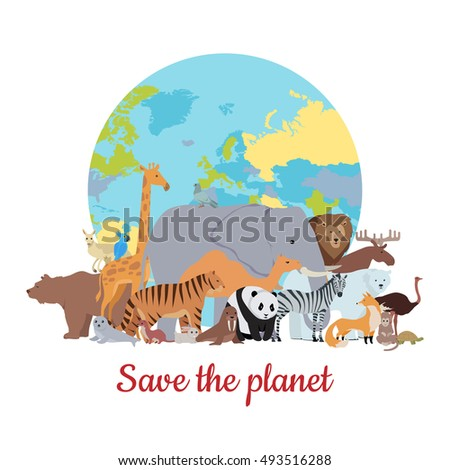 save the planet baner various