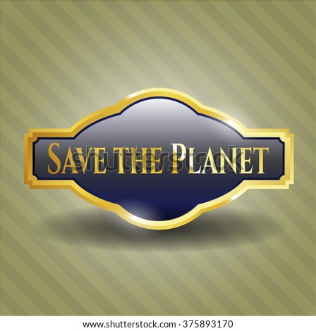 Save the Planet golden badge