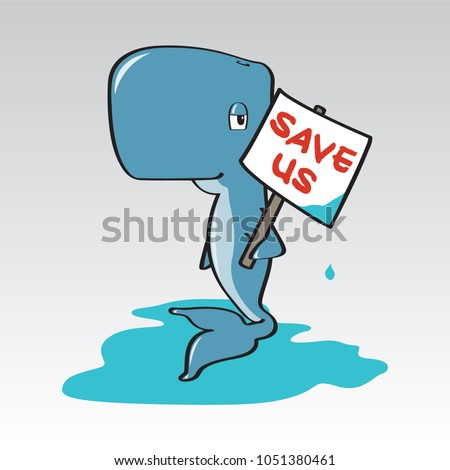 Save the Whales Isolated