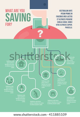 saving money infographic