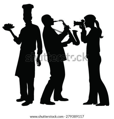 saxophonist playing girl taking
