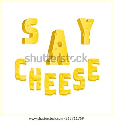 Say cheese ストックフォト ©