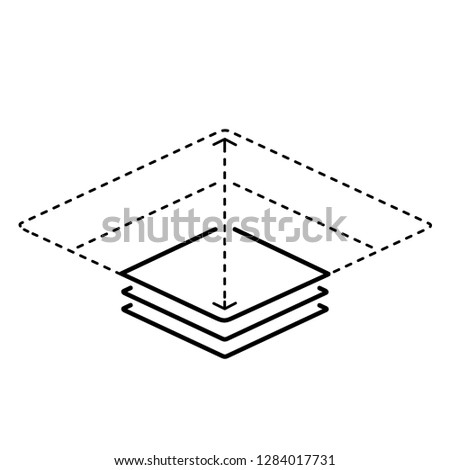 Scalable. Vector flat outline icon illustration isolated on white background.