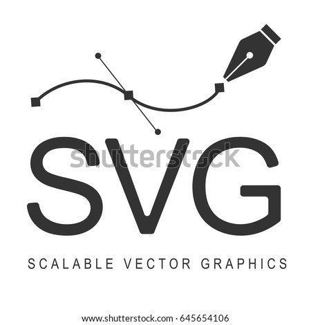 Scalable Vector Graphics, format svg. Responsive disign.
