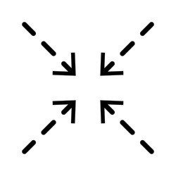 Scale Related Vector Line Icons like Increase, Decrease, Resize and more. Editable Stroke.eps 10