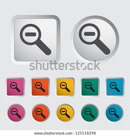 Scale single icon. Vector illustration.
