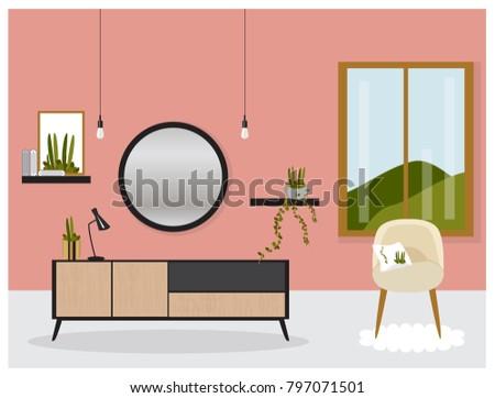 Old Fashioned Mid Century Living Room Set Model - Living Room ...