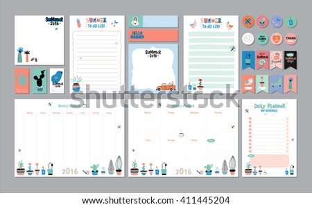 daily planner 2016 download free vector art stock graphics images
