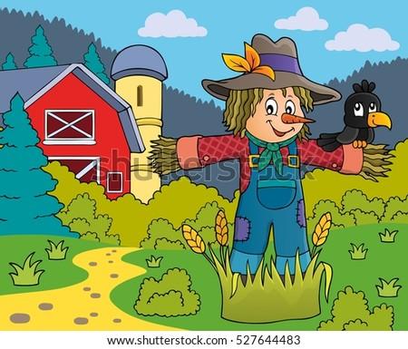 scarecrow theme image 5   eps10
