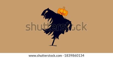 scarecrow vector design