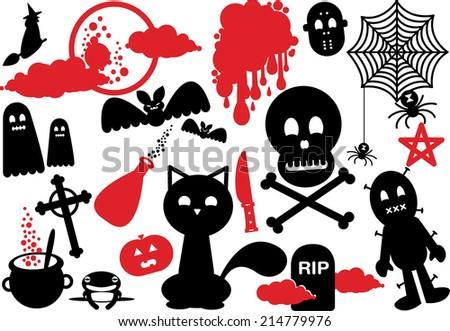 scary halloween night icon
