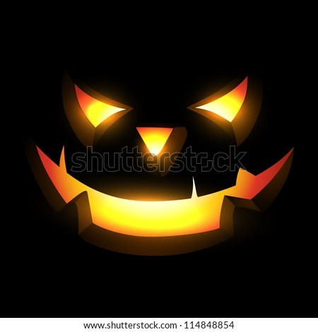 scary halloween vector design illustration