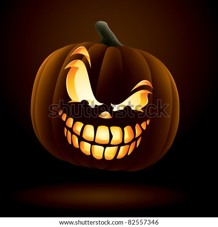 Scary Jack O Lantern