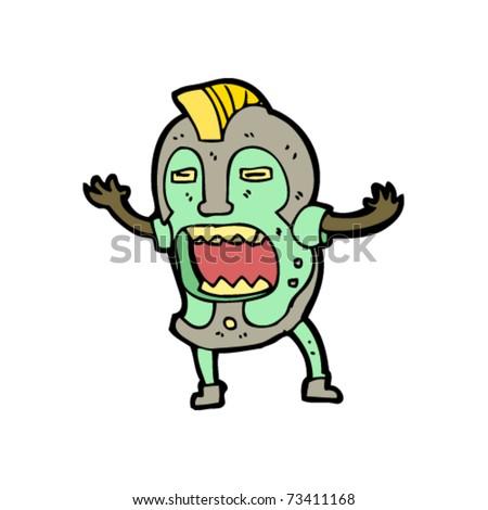 Tiki Man Cartoon