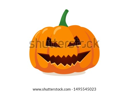 scary spooky smile pumpkin jack