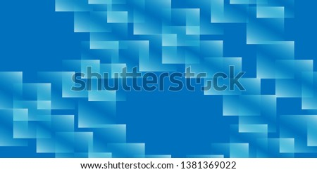 Scattered squares. Seamless background. Squares. Background of the frame. Square frames. Vector graphics