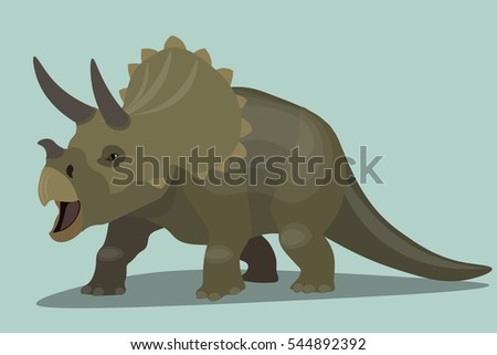 schematic picture of a dinosaur