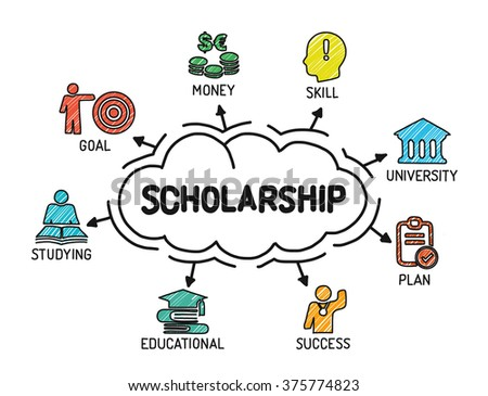 scholarship chart with
