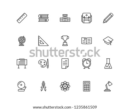 School and education icon for your need such presentation, website, document, new project, etc