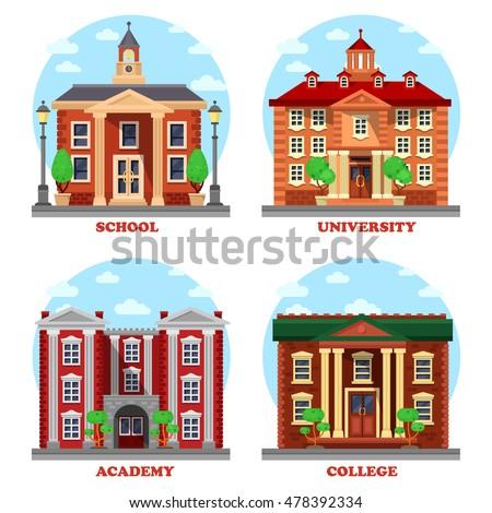 school and university  academy