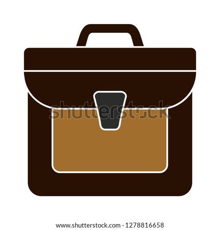 school bag icon-schoolbag illustration-bag isolated-briefcase icon-tourism illustration