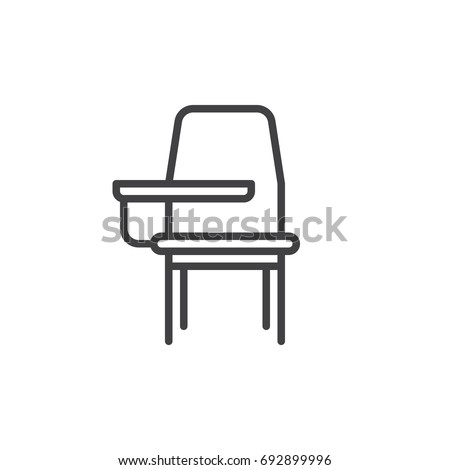 Office & Desk Chairs Table School Computer Icons, table, furniture, logo  png | PNGEgg