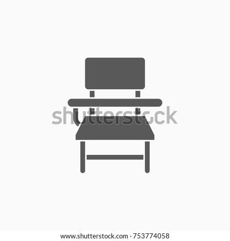 school desk icon