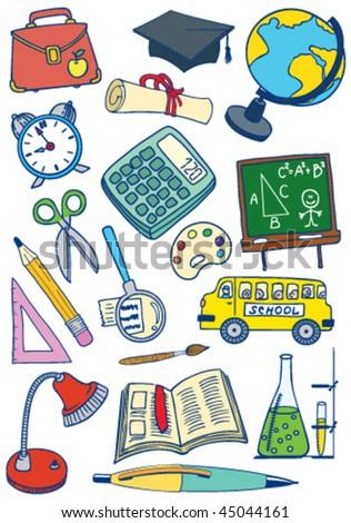 School (education) set