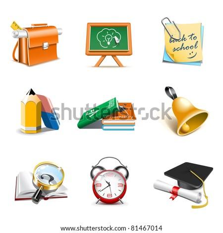 School icons | Bella series